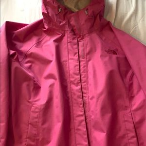 North face water resistant jacket